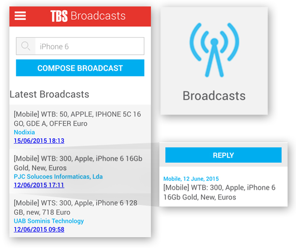 Send and Receive Broadcasts from our App